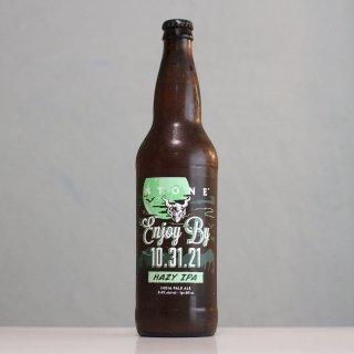【ラストスパートセール】ストーン エンジョイバイ 10.31.21 ヘイジーIPA 650ml瓶(STONE ENJOY BY  HAZY IPA BOTTLE)