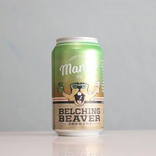 ベルチングビーバー ヒアカムズマンゴーIPA 缶(Belching Beaver Here Comes Mango IPA)