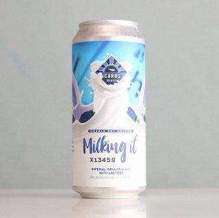 イカロスブルーイング DDHミルキングイット(ICARUS Brewing DDH Milking It)