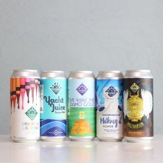 イカロスブルーイング 2021年10月来日ヘイジー5種セット(ICARUS Brewing Hazy 2021.10 Import set)