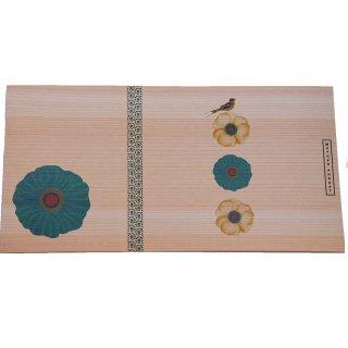 木のブックカバー(文庫本サイズ)