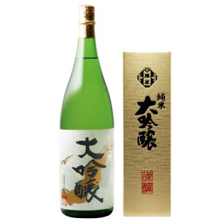純米大吟醸酒 楢の露1800ml