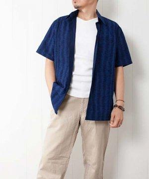 モーホーム/襟付き半袖シャツ