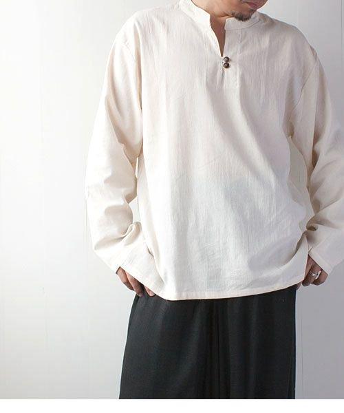 胸ボタン・コットンクルタ