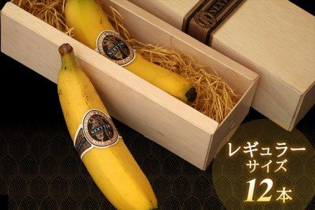 希少!国産バナナ NEXT716 【レギュラーx12本】