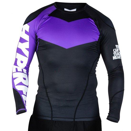 Long Sleeve Supreme Ranked Rash Guard II〈Purple〉