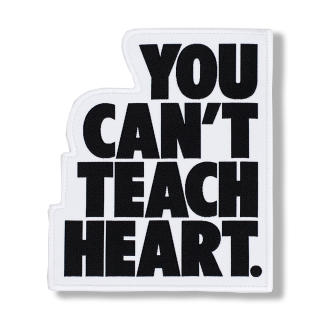 White You Can't Teach Heart. Patch 〈Black YCTH〉