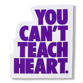 White You Can't Teach Heart. Patch 〈Purple YCTH〉