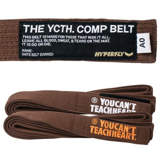 YCTH. Comp Belt〈Brown〉