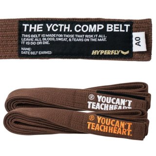 YCTH. Comp Belt〈Brown〉
