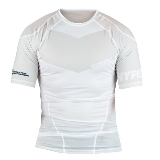 <img class='new_mark_img1' src='https://img.shop-pro.jp/img/new/icons13.gif' style='border:none;display:inline;margin:0px;padding:0px;width:auto;' />Short Sleeve Supreme Ranked Rash Guard〈White〉