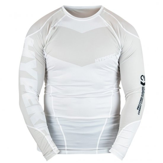 <img class='new_mark_img1' src='https://img.shop-pro.jp/img/new/icons13.gif' style='border:none;display:inline;margin:0px;padding:0px;width:auto;' />Long Sleeve Supreme Ranked Rash Guard〈White〉