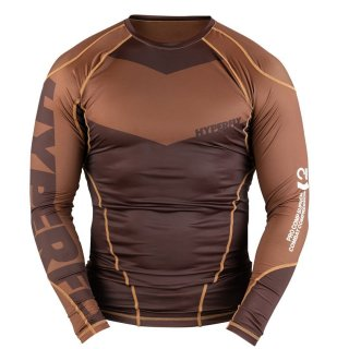 <img class='new_mark_img1' src='https://img.shop-pro.jp/img/new/icons13.gif' style='border:none;display:inline;margin:0px;padding:0px;width:auto;' />Long Sleeve Supreme Ranked Rash Guard〈Brown〉