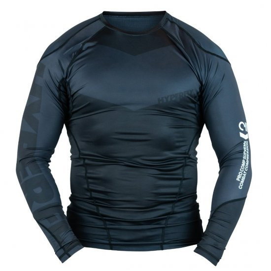 <img class='new_mark_img1' src='https://img.shop-pro.jp/img/new/icons13.gif' style='border:none;display:inline;margin:0px;padding:0px;width:auto;' />Long Sleeve Supreme Ranked Rash Guard〈Black〉