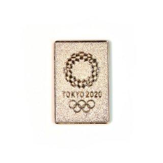東京2020オリンピックエンブレムキャストエンボスマグネットゴールド