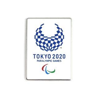 東京2020パラリンピックエンブレムキャストマグネットシルバー(フルカラー)