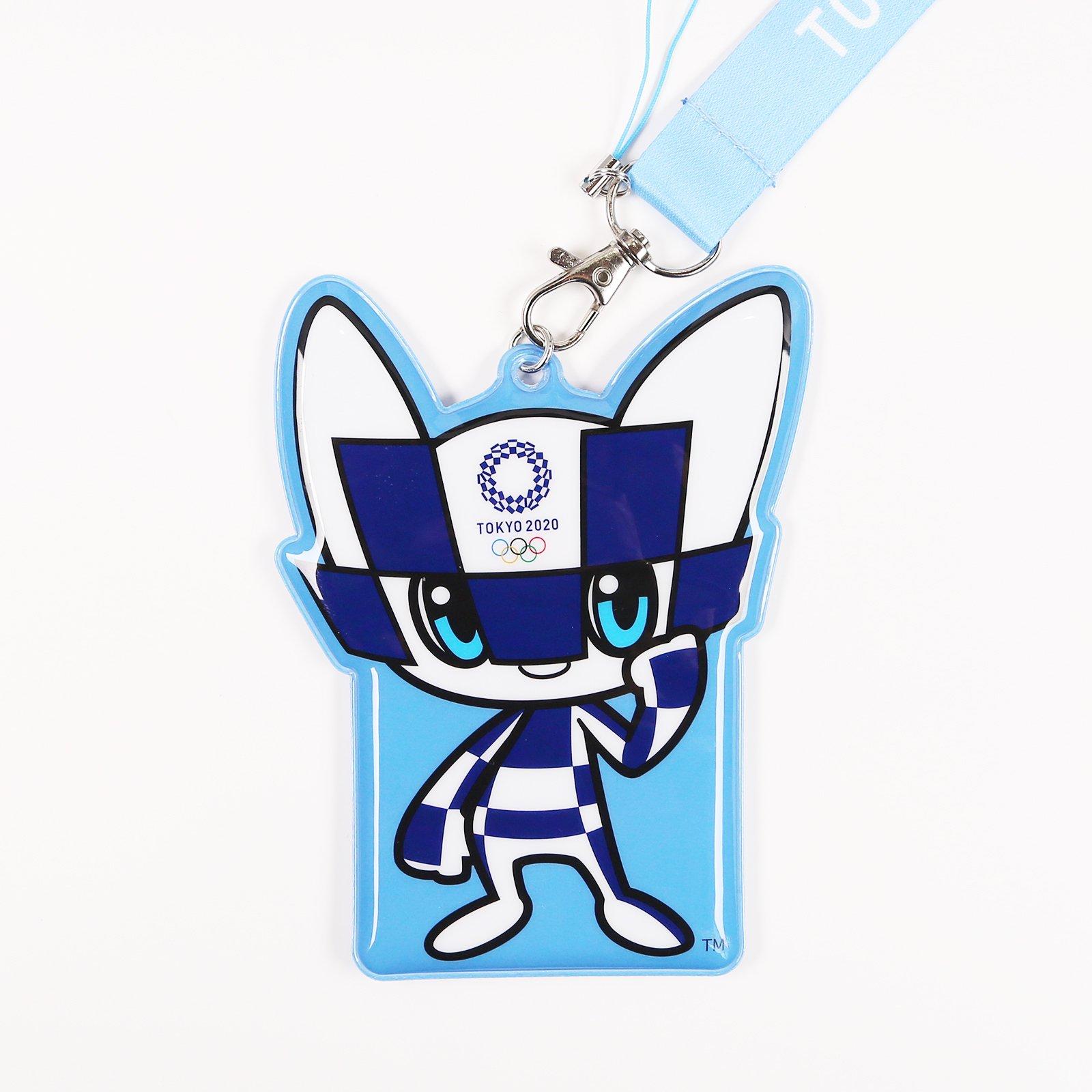 【セール価格】東京2020オリンピックマスコット PVCパスケースネックストラップ