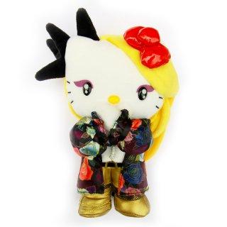 《web限定》【送料無料】yoshikitty:ぬいぐるみM・2015・Xポーズ