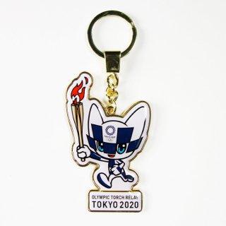 【セール価格】東京2020オリンピック聖火リレーマスコットメタルキーホルダー