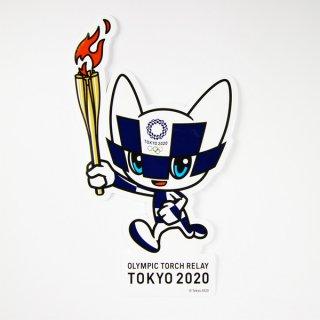 【セール価格】東京2020オリンピック聖火リレーマスコットダイカットステッカー