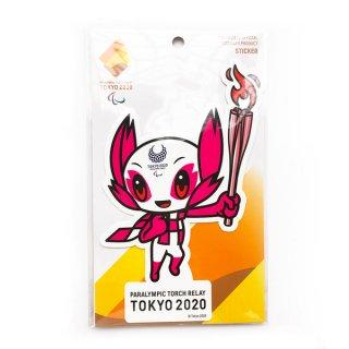 【セール価格】東京2020パラリンピック聖火リレーマスコットダイカットステッカー