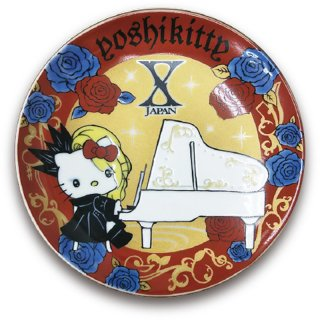 《web限定》yoshikitty:九谷焼豆皿・2020・ピアノ