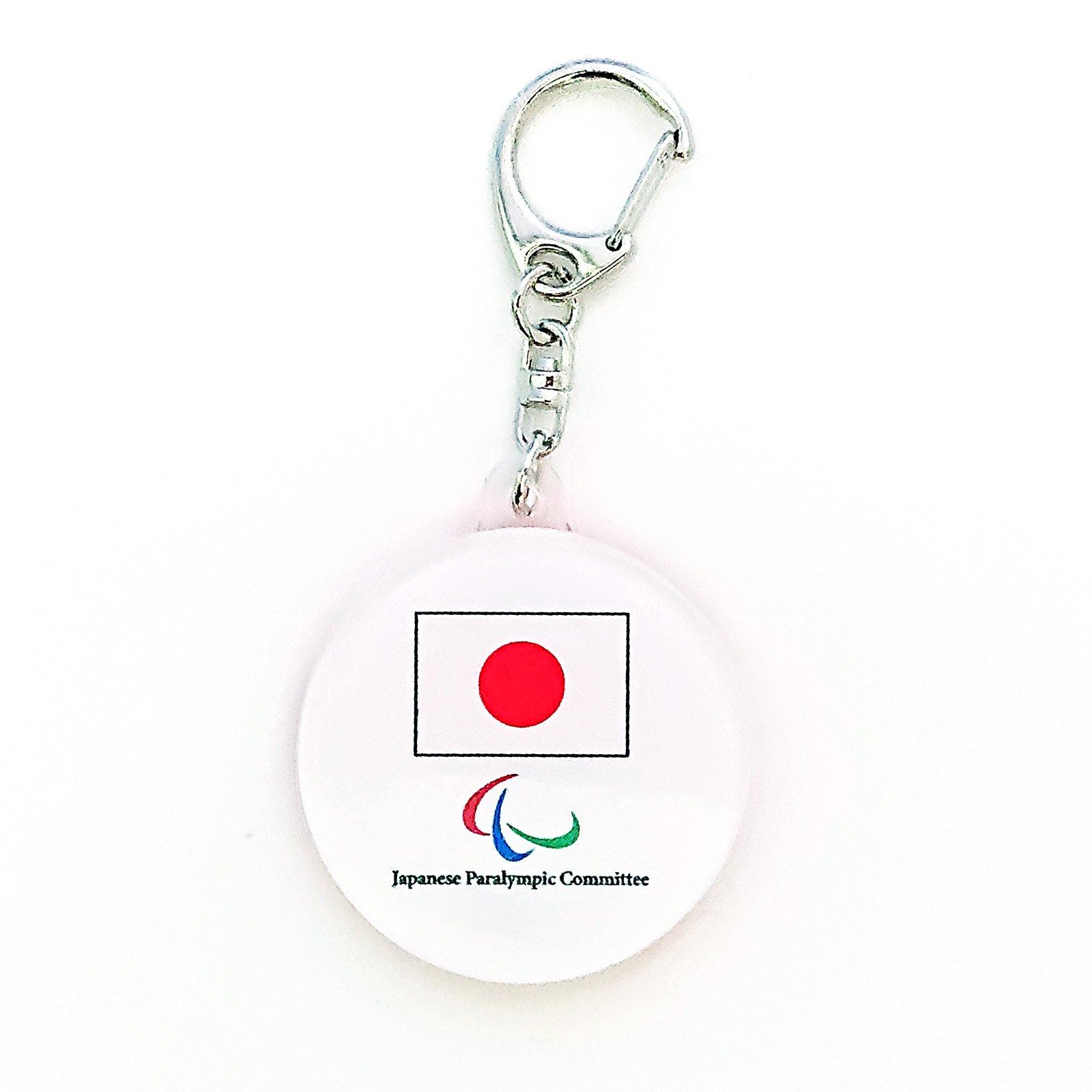 アクリルキーホルダー丸JAPAN2018(JPCエンブレム)