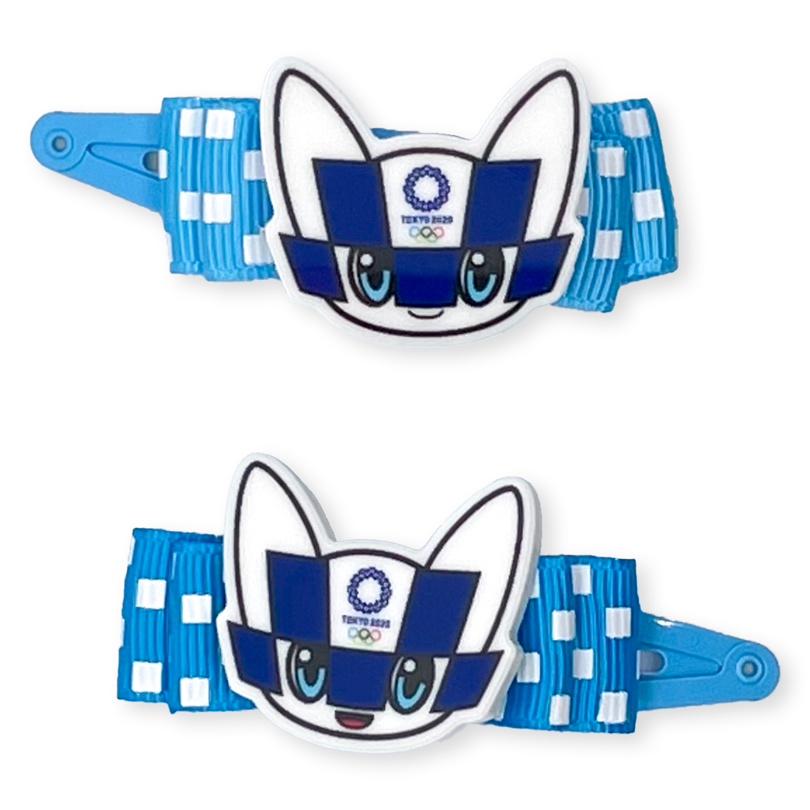 東京2020オリンピックマスコットパーツ付ヘアピン2個セット