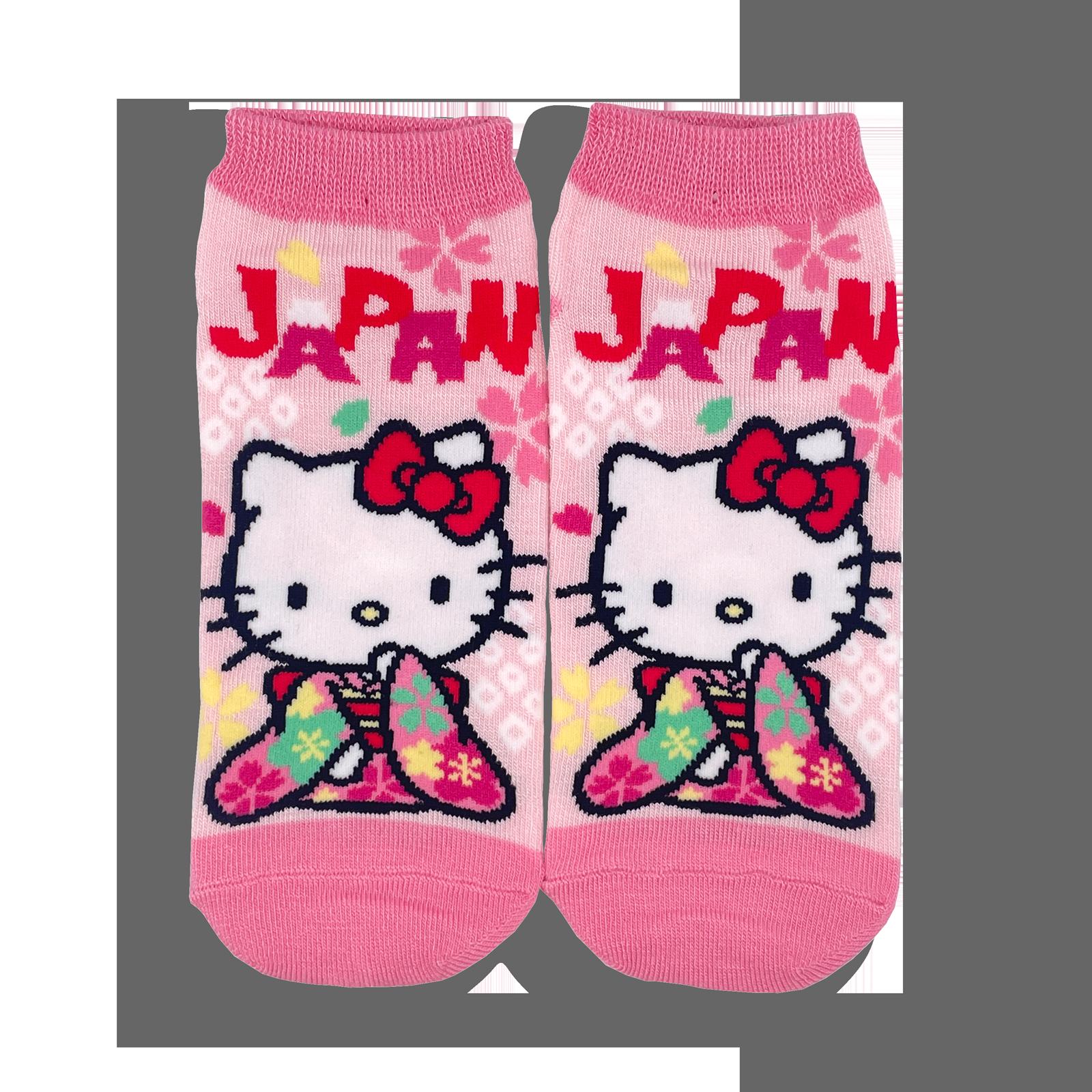 JAPAN×ハローキティ 靴下・着物