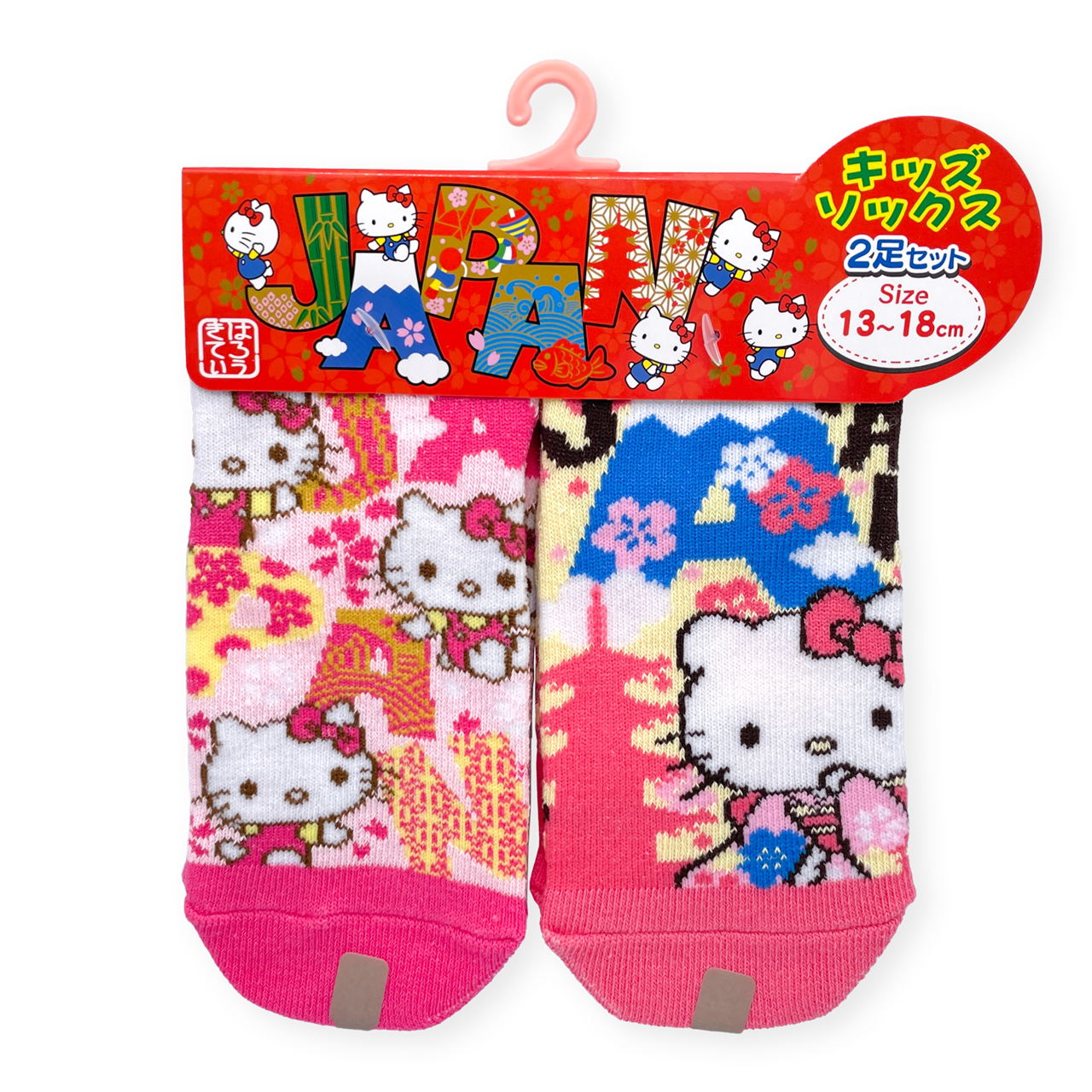 JAPAN×ハローキティ 靴下・KIDS2P