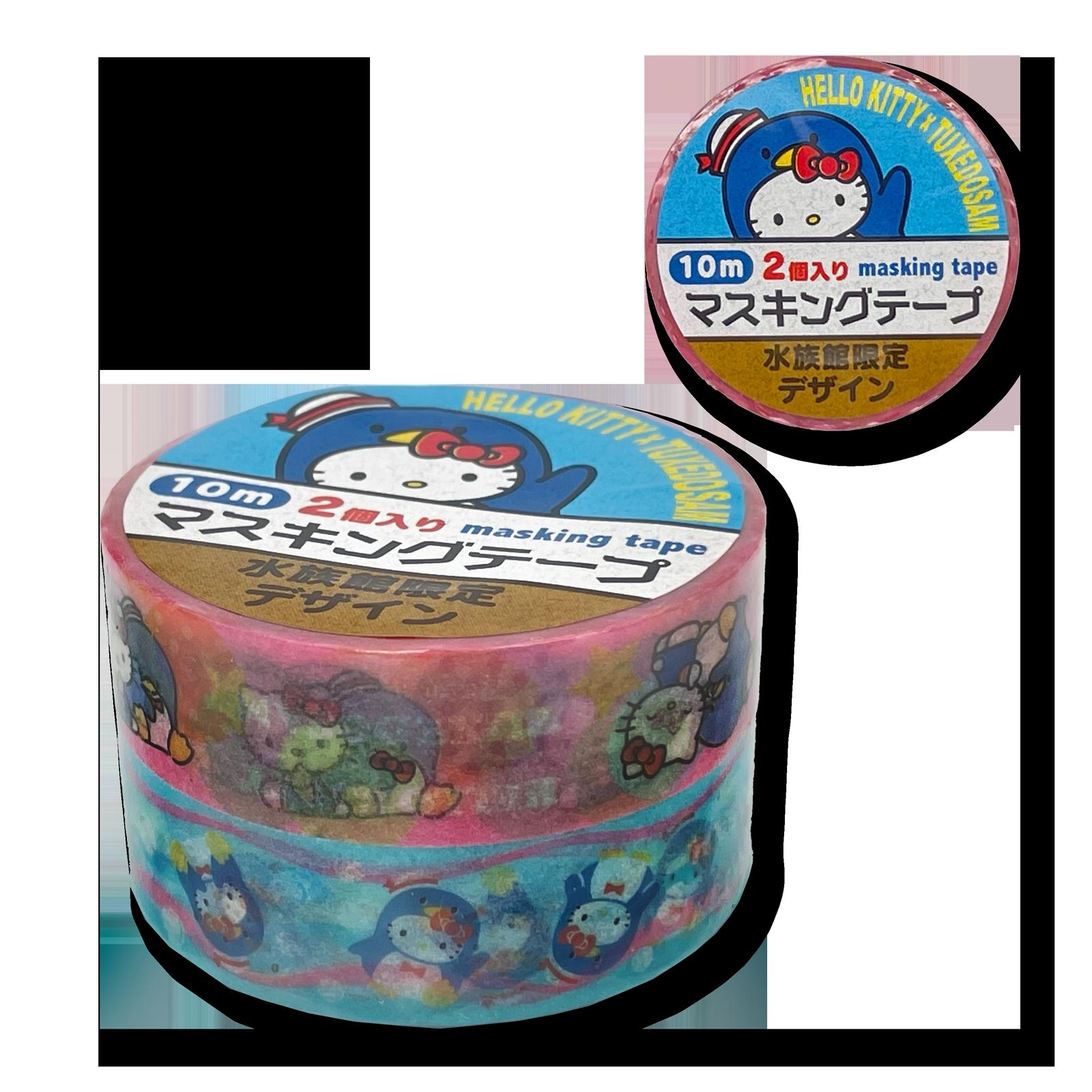 タキシードサムXハローキティ  マスキングテープ・2P