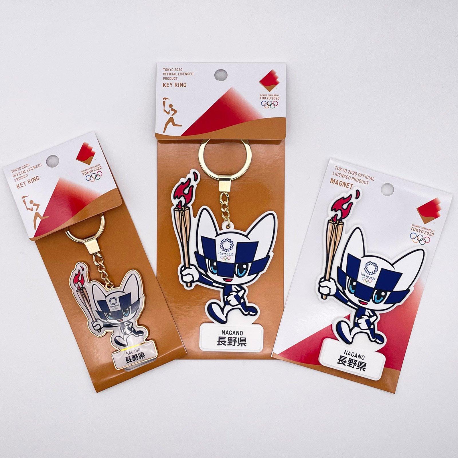 【セール価格】【お得なセット】東京2020オリンピック聖火リレーマスコット商品:長野県セット