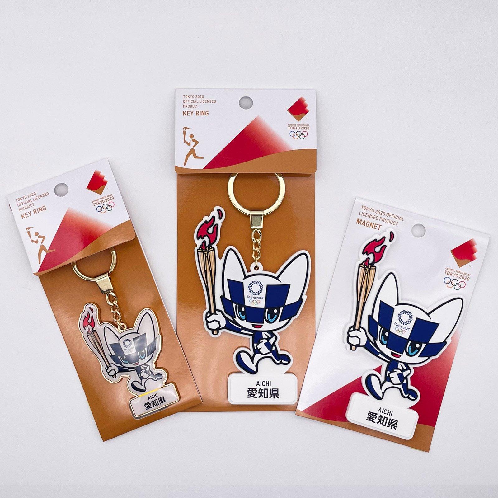 【セール価格】【お得なセット】東京2020オリンピック聖火リレーマスコット商品:愛知県セット
