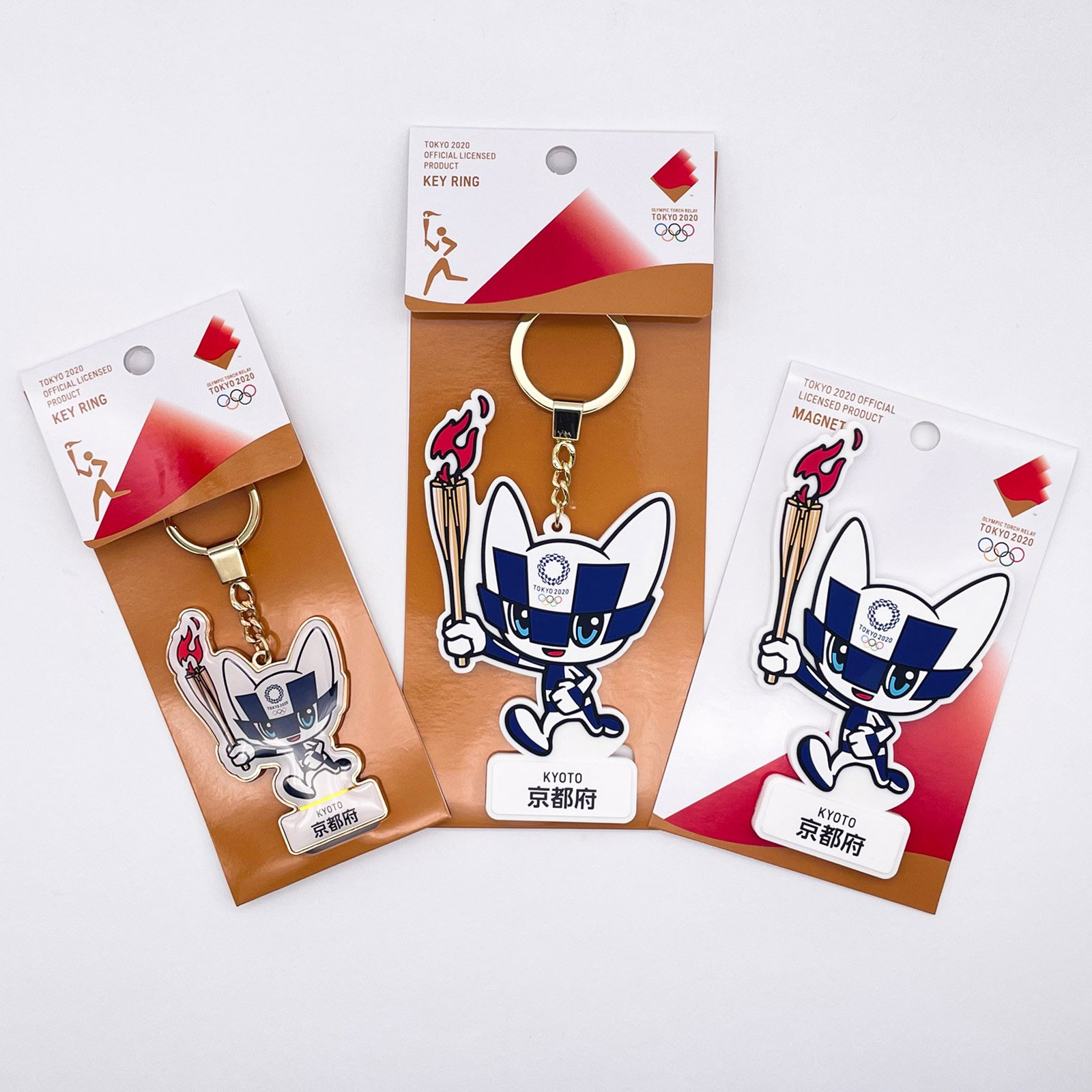 【セール価格】【お得なセット】東京2020オリンピック聖火リレーマスコット商品:京都府セット