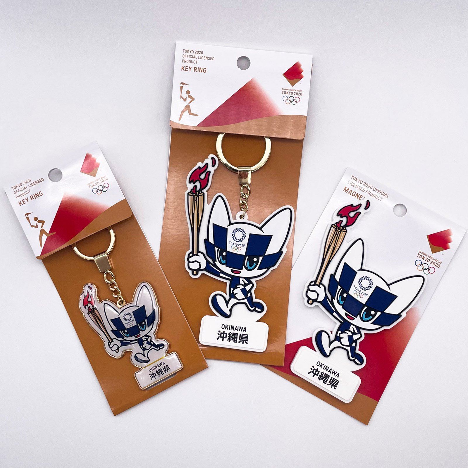 【セール価格】【お得なセット】東京2020オリンピック聖火リレーマスコット商品:沖縄県セット