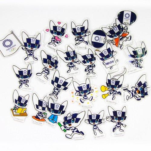 【セール価格】東京2020オリンピックマスコットフレークシール
