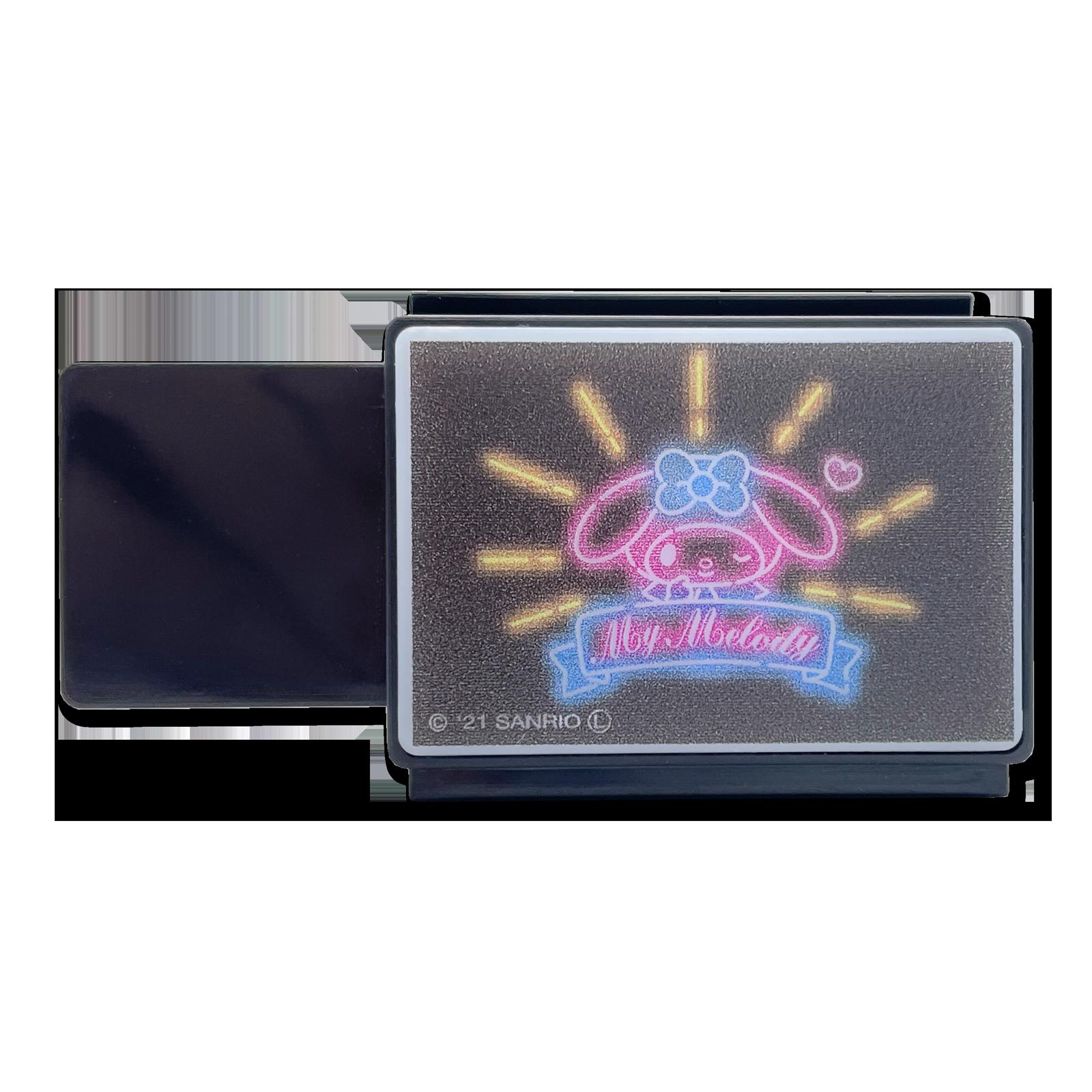 マイメロディ 光る電飾看板マグネット