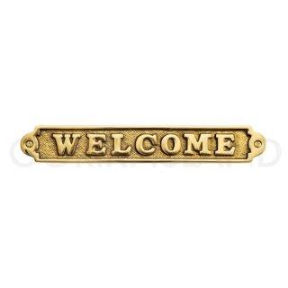 サイン WELCOME