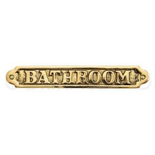 サイン BATHROOM