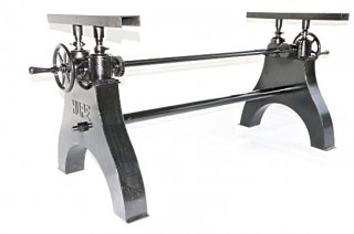 Hure Crank Table Base(Black)
