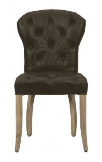 CHESTER CHAIR DSTROYED BLACK