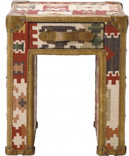 SLAB LAMP TABLE KILIM