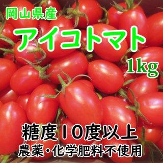 ◆送料無料◆岡山県産 晴れおとめ(アイコトマト) 約1kg
