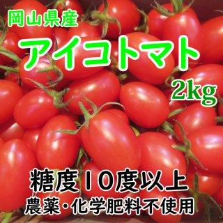 ◆送料無料◆岡山県産 晴れおとめ(アイコトマト) 約2kg