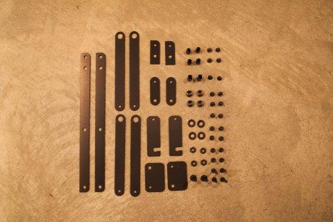 カーミットチェア BLACK Edition インチ黒ネジSET