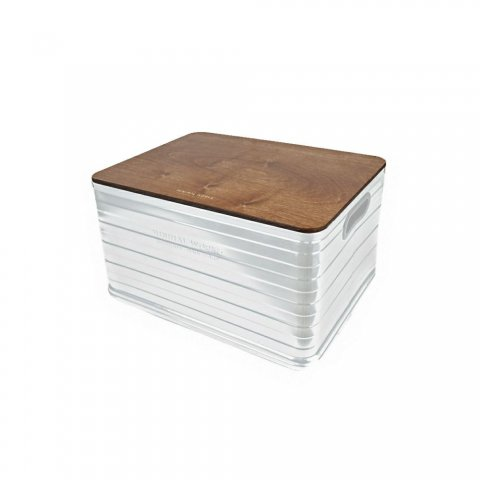 ALUMINIUM CONTAINER U50 WOOD COVER