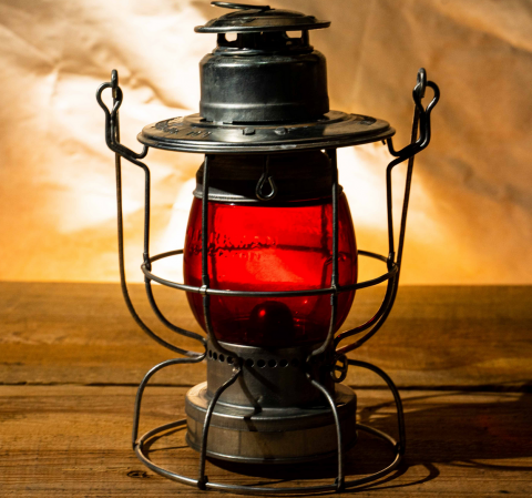 W.T.Kirkman Lanterns No.100 Watchman Railroad Lantern