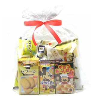 おかしのマーチ ブルボンのお菓子セット(6種類入) ラッピングver (omtmabbswra)