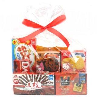 おかしのマーチ 森永のお菓子セット (7種類入) ラッピングver (omtmamnswra)