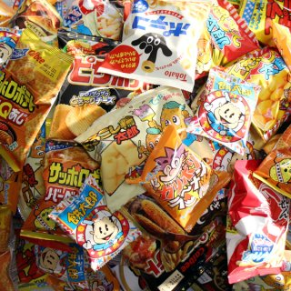 おかしのマーチ 駄菓子・小袋スナック いっぱいセット(全106コ入) (omtma0831)